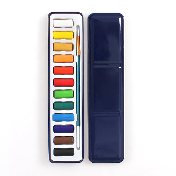 1 Piece Solid Water Color Painting Set Writing & Drawing kiniyo stationary 3913p