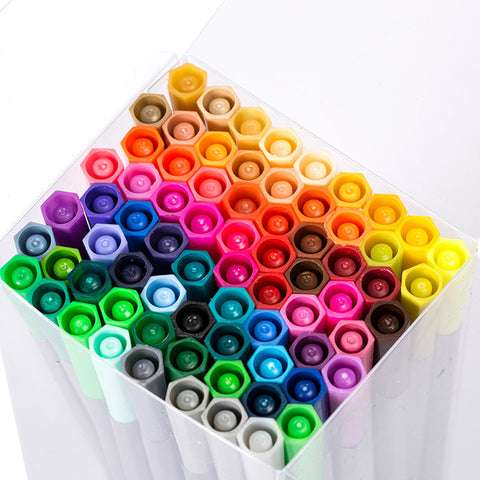 24/36/48/60/100pcs 0.4mm Line Drawing Pen Set Writing & Drawing kiniyo stationary 3940p
