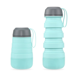 400ml Outdoor Silicone Collapsible To-go Cup