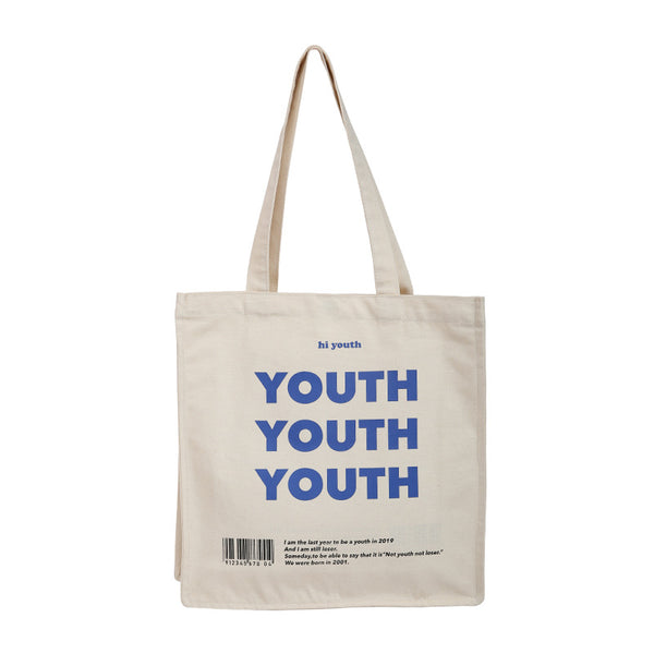 YOUTH Canvas Shoulder Bag KINIYO Stationery