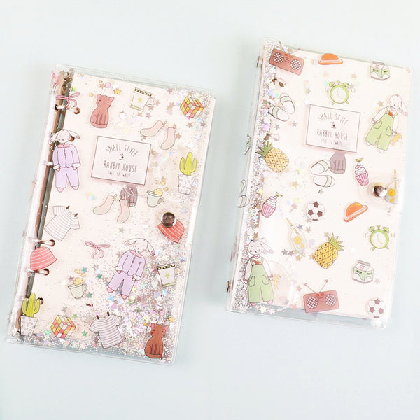 48K PVC Cover Girl Loose Spiral Planner