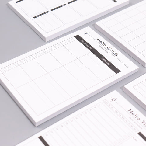 Time Management To-do List Carry-on Writing Pad KINIYO Stationery