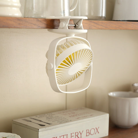 Colours USB Mini Clip Desk Fan