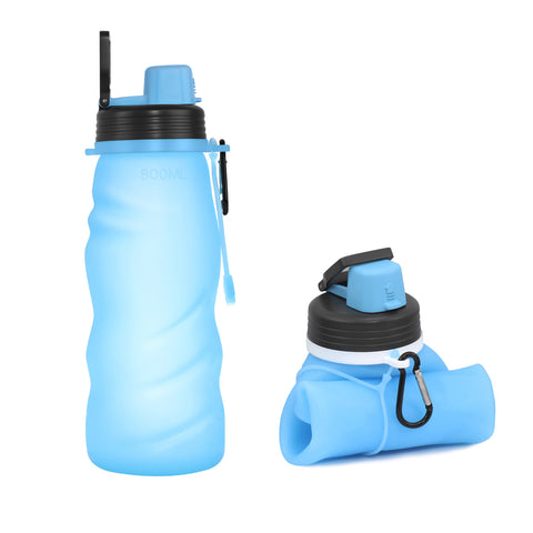 800ml Silicone Collapsible Outdoor To-go Cup