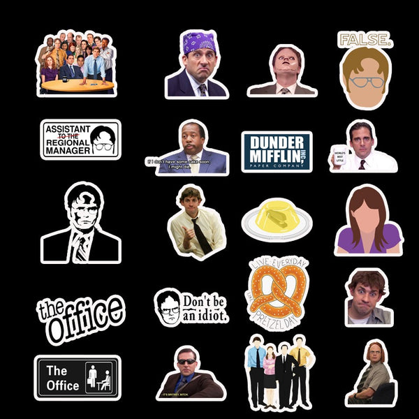 50pcs No-repeat The Office Sticker Bomb I