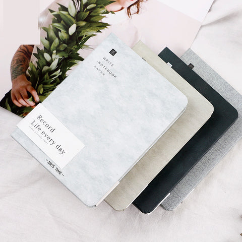 1 Piece 64K Hard Cover Notebook