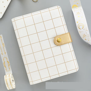 1 Piece Retro Weekly Planner with Snaps KINIYO Stationery