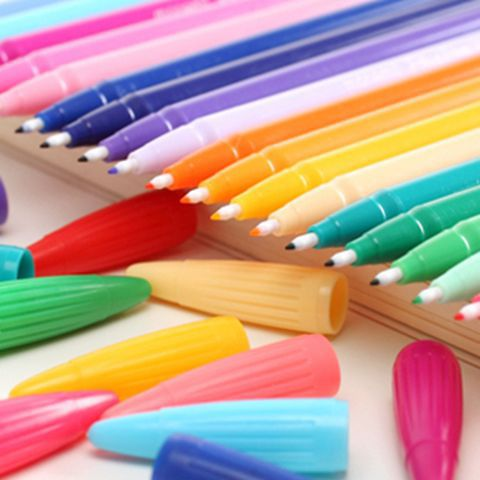12pcs 0.38mm Colorful Gel Pens Set KINIYO Stationery