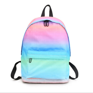 Rainbow Waterproof Large Capacity Backpack