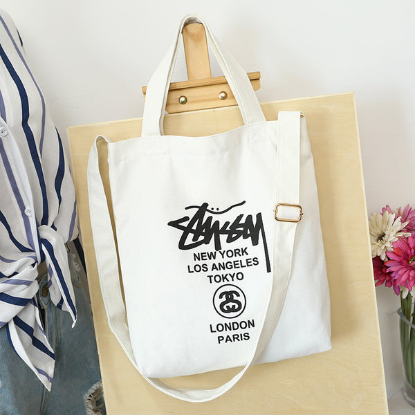 Famous City Casual Canvas Shoudler Bag