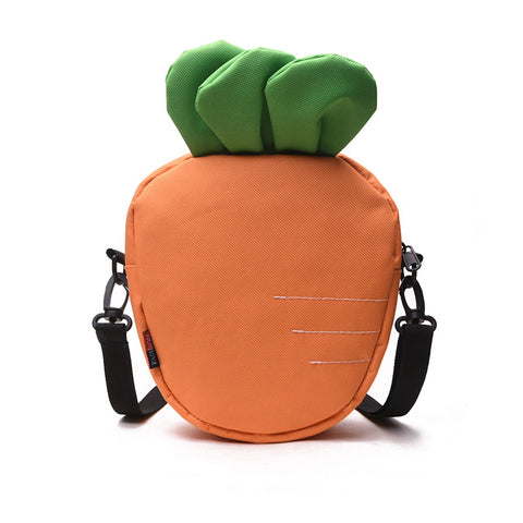 Lovely Carrot Colorful PU Shoulder Bag