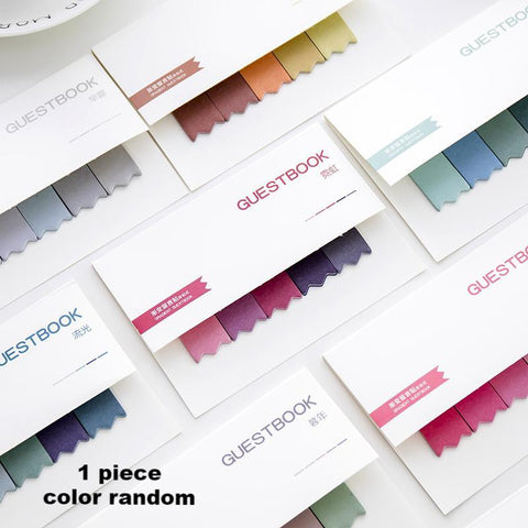 1 Piece Gradient Index Sticky Note KINIYO Stationery