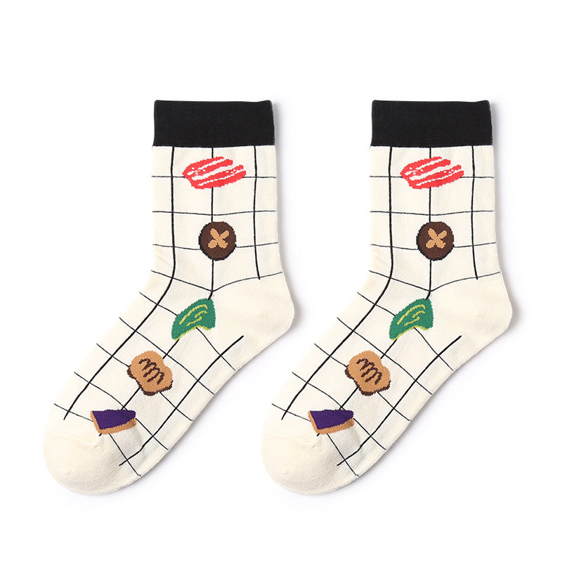 1 Pair Creative Life Cotton Socks KINIYO Stationery