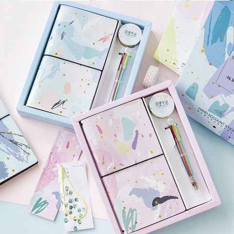 1 Piece Nordic Style Planner Gift Box Set KINIYO Stationery