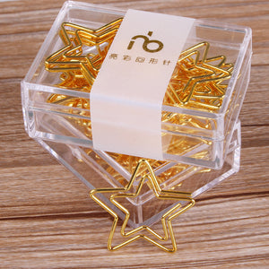 12 per box Star Metal Binder Clip