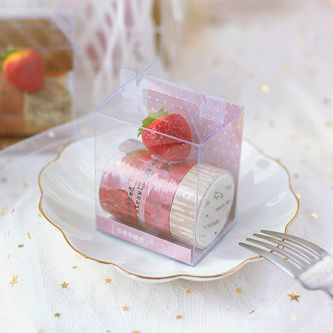 3 Rolls Cake Series Washi Tape KINIYO Stationery