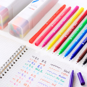 12/24pcs Washable Watercolor Pen