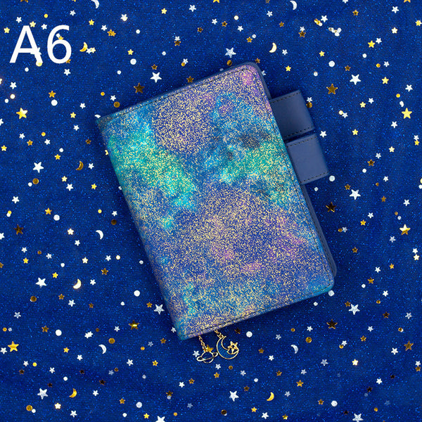 1 Piece Shiny Star A5/A6 Planner Notebook