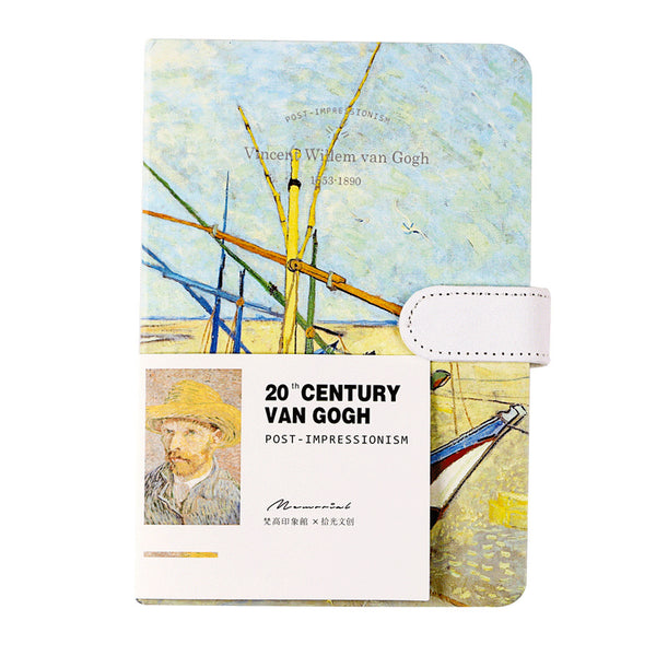 1 Piece Van Gogh Series Planner with Snap KINIYO Stationery