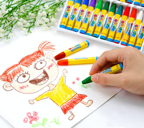 36 pcs Colorful Oil Painting Crayon