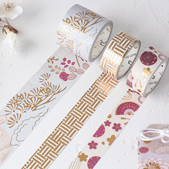 3 Rolls Golden Washi Tape