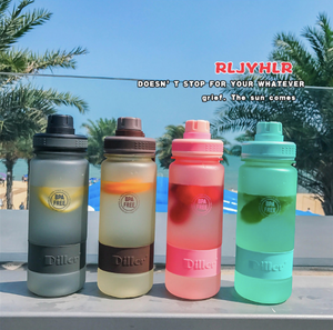 Translucent Bottle Plastic To-go Cup 700ml