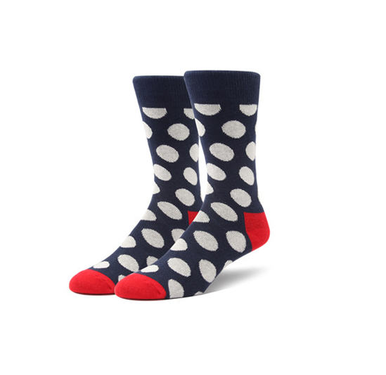 1 Pair Colorful Dot Socks KINIYO Stationery