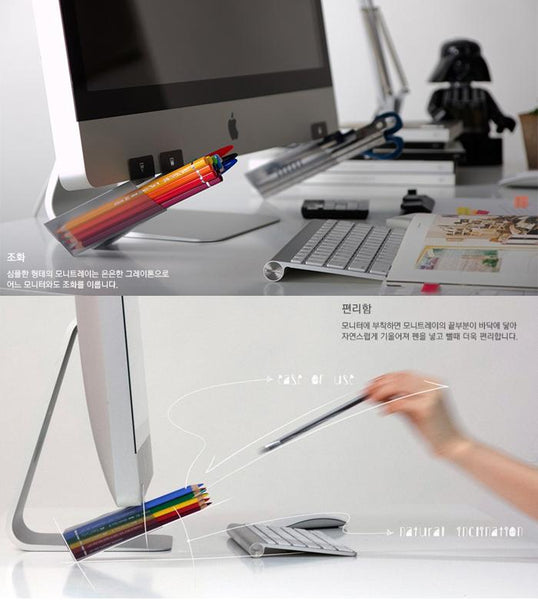 4pcs Creative Desktop Organizer Pen Pencil Holder KINIYO Stationery