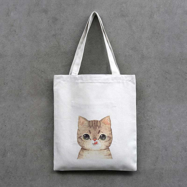 Cartoon Cat Large Capacity Shoulder Bag KINIYO Stationery