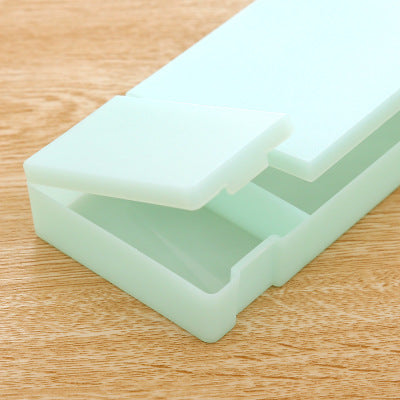 1 Piece PP Translucent Pencil Case KINIYO Stationery