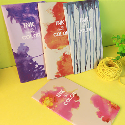 1 Piece Colorful Ink Notebook KINIYO Stationery