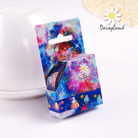 1 Piece 5m Splendid Star Deco Tape KINIYO Stationery