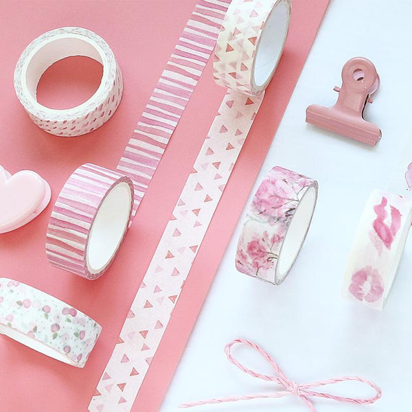 32pcs Pink Washi Tape