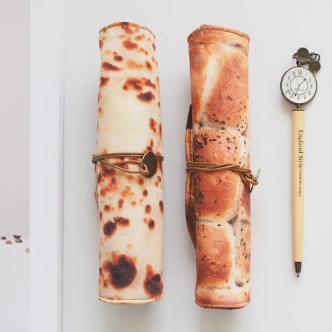 1 Piece Cute Pancake Pen Pencil Case KINIYO Stationery