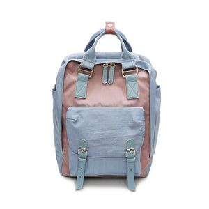 Colorful Waterproof Nylon Backpack