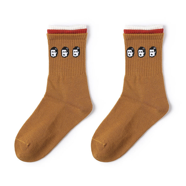 1 Pair Harajuku Style Cotton Socks KINIYO Stationery