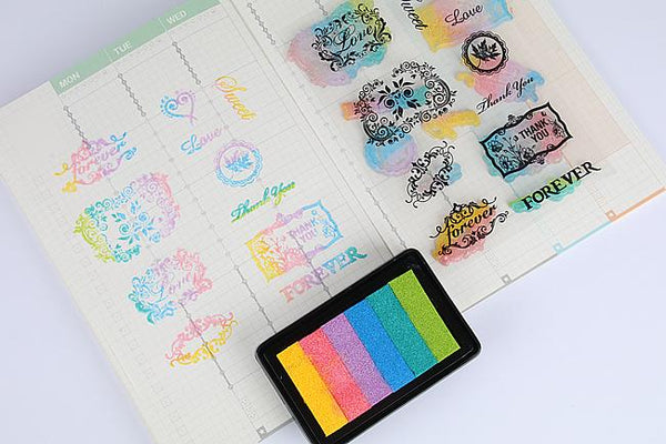 5pcs Ink Pad for Stamps KINIYO Stationery
