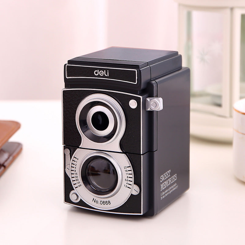 1 Piece Retro Camera Manual Pencil Sharpener KINIYO Stationery