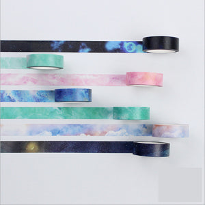 7pcs Water Color Washi Tape