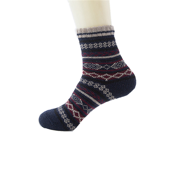 5 Pairs Wool Comfortable Nationality Socks