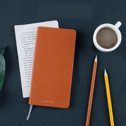 1 Piece Classic PU Leather Cover Weekly Planner KINIYO Stationery