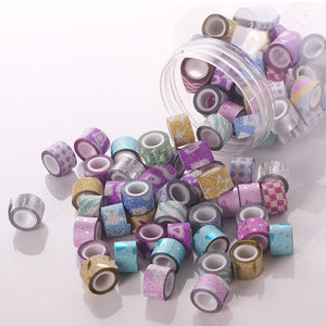 90pcs Mini Colorful Tapes