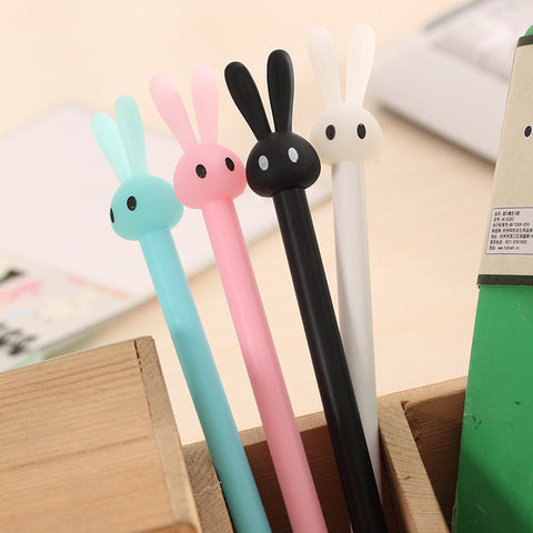 1 Piece Rabbit 0.38mm Gel Pen KINIYO Stationery