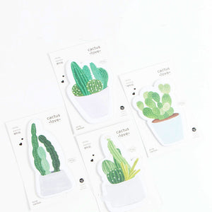 4pcs Cactus Series Sticky Note