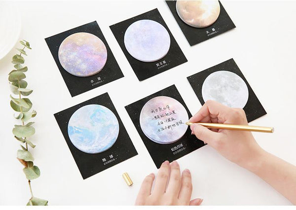 6pcs Celestial Series Sticky Note