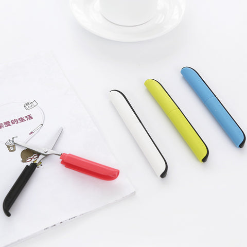 1 Piece Portable Safe Folded Scissors KINIYO Stationery
