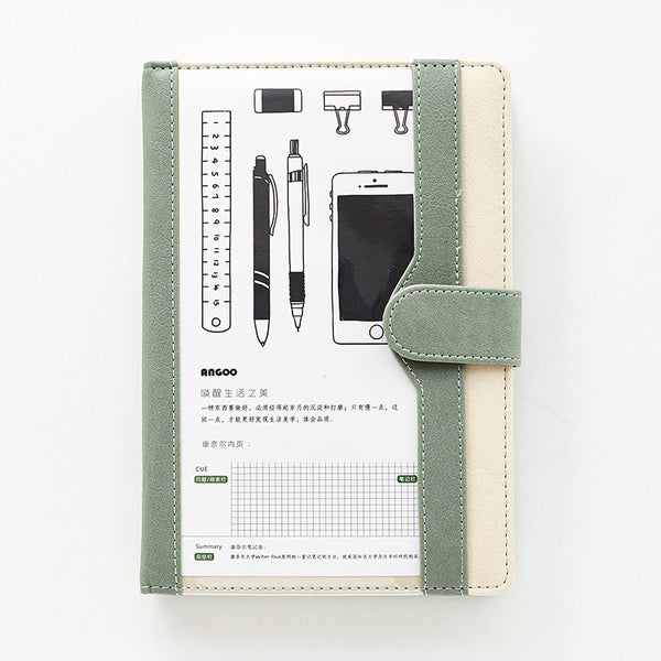 1 Piece Leather Notebook KINIYO Stationery