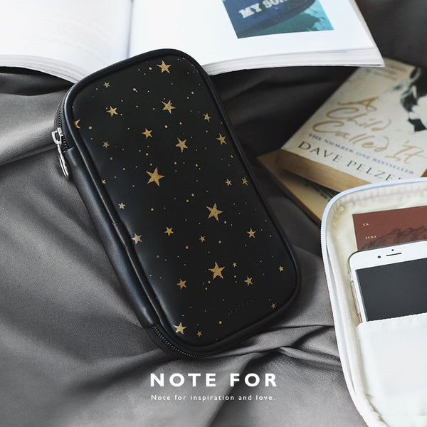 Large Capacity Dazzling Star Pen Pencil Case