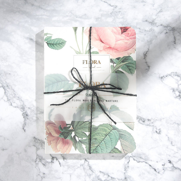 1 Piece Flower Picture Dairy Notebook KINIYO Stationery
