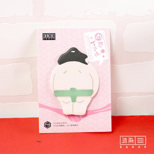 4pcs Sumo Sticky Note